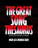 img - for The Great Song Thesaurus by Lax Roger Smith Frederick (1989-02-09) Hardcover book / textbook / text book