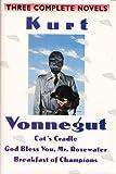Kurt Vonnegut Cat's Cradle, God Bless You Mr. Rosewater, & Breakfast of Champions