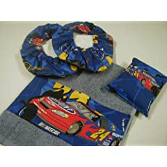 Jeff Gordon #24 Fabric Shoe Cover Rosin Bag Towel Set by JumbosCreations
