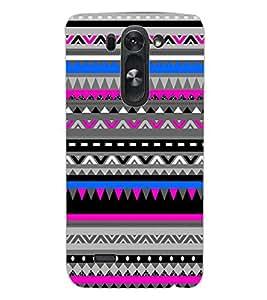 ColourCraft Tribal pattern Design Back Case Cover for LG G3 BEAT