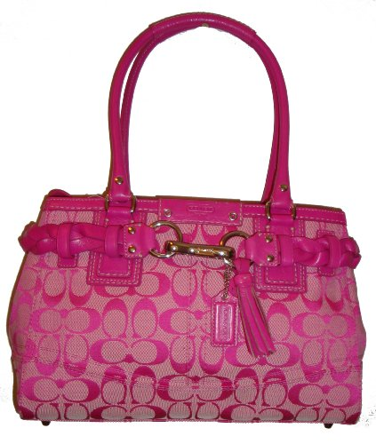 Bolsos De Trapillo: Pink Purses By Coach