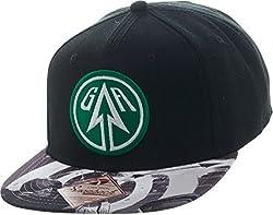 Green Arrow Sublimated Bill Snapback Hat Cap