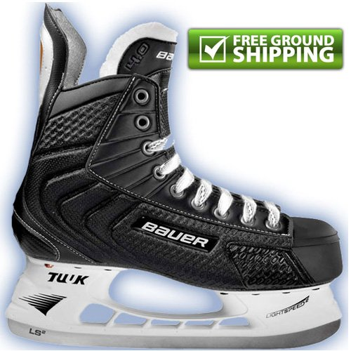 Amazon.com : Bauer Flexlite 4.0 Senior Ice Hockey Skates : Sports