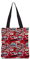 Snoogg Woah Aaah Poly Canvas Tote Bag