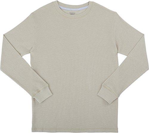 french-toast-school-uniform-boys-long-sleeve-thermal-t-shirt-heather-humus-4t