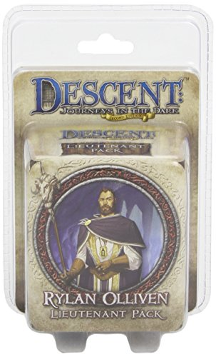 Descent Second Edition: Rylan Olliven Lieutenant Pack