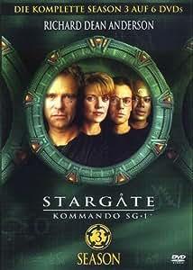 Stargate Kommando SG-1 - Season 3 (6 DVDs)