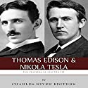 Thomas Edison and Nikola Tesla: The Pioneers of Electricity Audiobook by  Charles River Editors Narrated by Barbara H. Scott