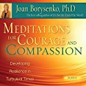 Meditations for Courage and Compassion: Developing Resilience in Turbulent Times Audiobook by Joan Borysenko Narrated by Joan Borysenko