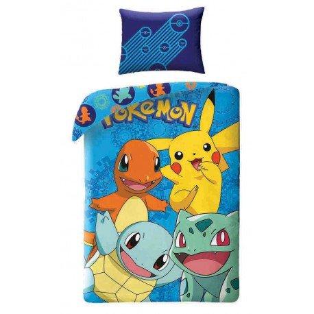 Pokemon-Go-nouveaut-funda-de-edredn-100-algodn-de-Pikachu-y-sus-amies-especial-Fete-de-fin-de-ao-cantidad-limitada