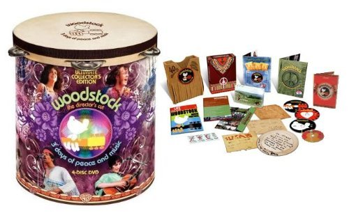Woodstock: 3 Days of Peace & Music Director's Cut (Ultimate Collector's Edition 4-DVD Set with Deluxe Packaging and Bonus Footage) (Grease 2 Vhs compare prices)