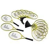 Junior Tennis Racquet Super Set (15) by FlagHouse