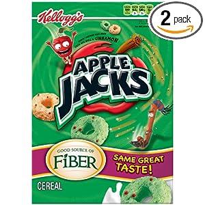 Apple Jacks营养早餐麦片,21.7盎司每盒,2盒装