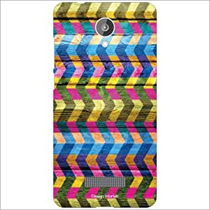 Design Worlds - Micromax Canvas Spark Q380 Designer Back Cover Case - Multi...