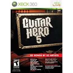 Guitar Hero 5 XBOX 360 - Game only