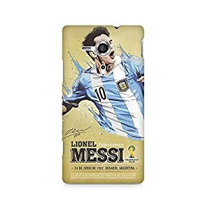 Ebby Lional Messi Love Premium Printed Case For Sony Xperia SP M35H