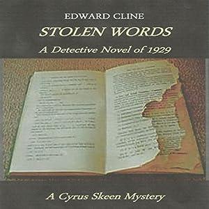 Stolen Words: A Detective Novel of 1929 Audiobook