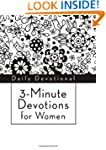 3-Minute Devotions for Women: Daily D...