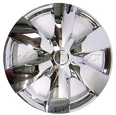 """Chrome 15"""" Hub Caps Full Wheel Rim Covers w/Steel Clips (Set of 4) - KT-1008-15"""