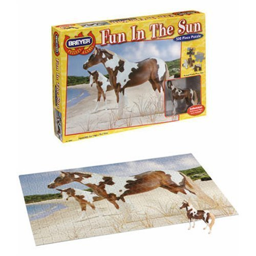 Fun in the Sun - 500 piece puzzle by Breyer Horses