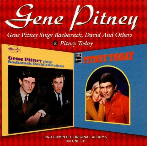 Gene Pitney - Sings Bacharach, David And Others/pitney Today - Zortam Music
