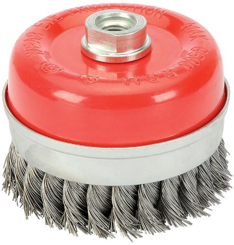 Draper 41447 60 mm x M14 Twist Knot Wire Cup Brush by Draper