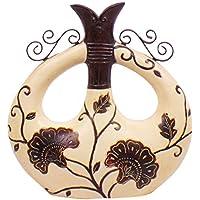 ARTELIER Polyresin Vase (26.5 Cm X 25 Cm X 26.5 Cm, ID-5172-015)