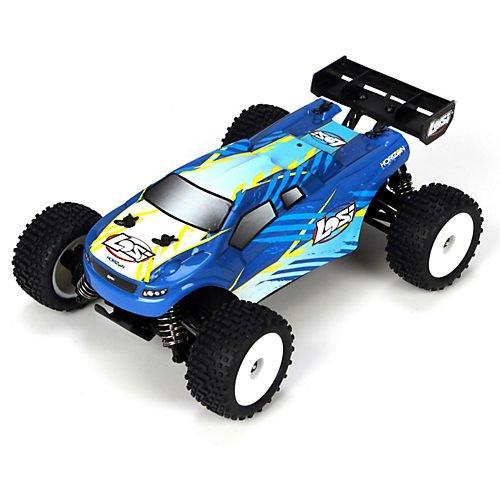Team Losi 4WD Micro RTR Truggy Truck (1/24 Scale), Blue (Team Losi Micro Truggy compare prices)