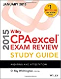 img - for Wiley CPAexcel Exam Review 2015 Study Guide (January): Auditing and Attestation (Wiley Cpa Exam Review) book / textbook / text book