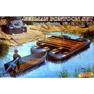 Maquette pont flottant allemand