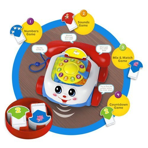 Fisher Price Chatter Phone Talking Game