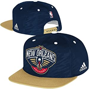 Denver Nuggets Adidas NBA Authentic On Court Snapback Hat by adidas