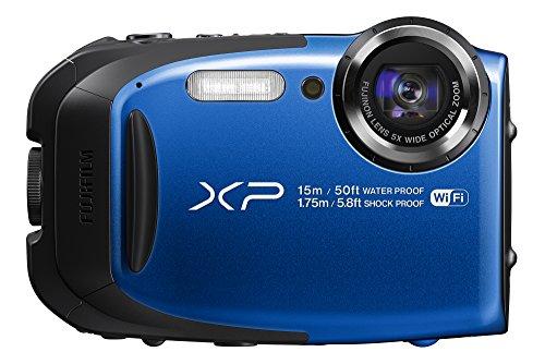 FUJIFILM コンパクトデジタルカメラ XP80 ブルー XP80BL