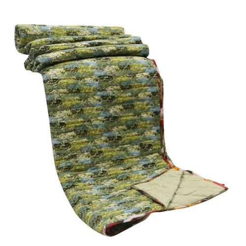 Decorativo hecho a mano del edredón Queen Size Indian Home Dacor Resumen Imprimir Colcha Reversible algodón 106