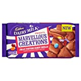 Cadbury Dairy Milk Marvellous Creations Jelly Popping Candy Shells 200g (Pack of 14)
