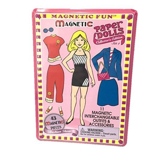 Magnetic Paper Dolls - Set 1