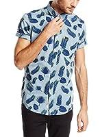 Lee Camisa Hombre (Azul)