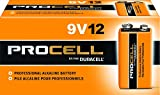 Duracell Procell 9 Volt Batteries, Pack of 12