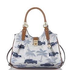 Elisa Hobo Bag<br>Blue Copa Cabana