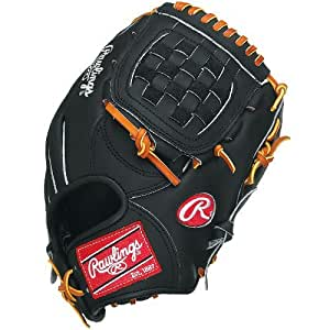 Rawlings PRODJ2-RH Heart Of The Hide Basket Web Infielder's Pitcher's Left-Handed Throw Baseball Glove (11.5-Inches)