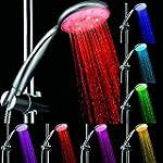 Pommeau de douche 7 couleurs � LED