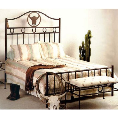 Wrought Iron Headboards For Queen Beds front-995375