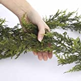 Factory-Direct-Craft-Realistic-Vinyl-Artificial-Pine-Garland-for-Holiday-Home-Decor-72-Long
