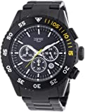 Esprit Herren-Armbanduhr XL Varic Chrono Night Chronograph Quarz Edelstahl ES103621006
