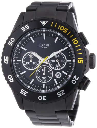 Esprit Esprit Varic Water-Resistant Analog Black Dial Men's Watch ES103621006