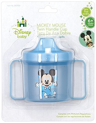 Mickey Mouse Twin-Handle Cup - 1