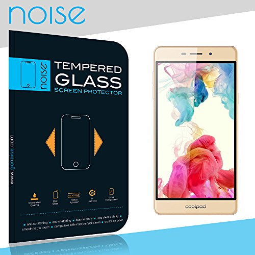Noise Tempered Glass Screen protector For Coolpad Mega 2.5D with 2.5D Curved Edge, 9H Hardness, Ultra Thin (Combo Deal) (1 Pack)  available at amazon for Rs.139