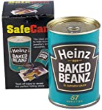 Safe Can Heinz Baked Beans Secret Home Security Hide Away Valuables & Money Gift