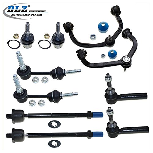 dlz-10-pcs-front-suspension-kit-2-upper-control-arm-ball-joint-assembly-2-lower-ball-joint-2-inner-2