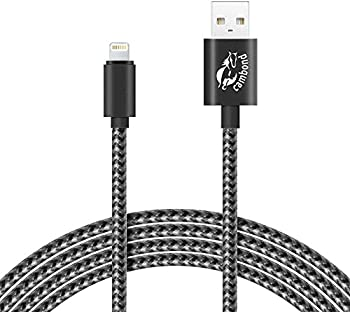 Cambond 10-Feet Braided Lightning to USB Cable